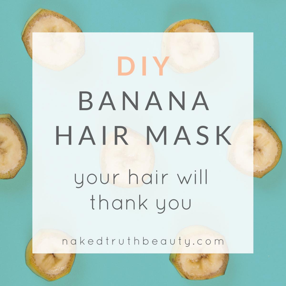 Ingredient Make-at-Home Hair Mask