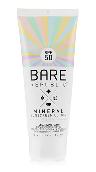 How to Choose a Good Sunscreen, Bare Republic Mineral Sunscreen Baby