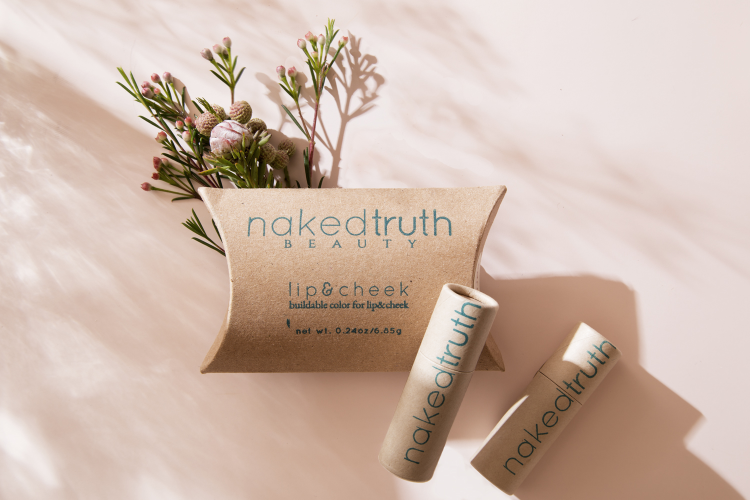 Clean beauty with biodegradable packaging