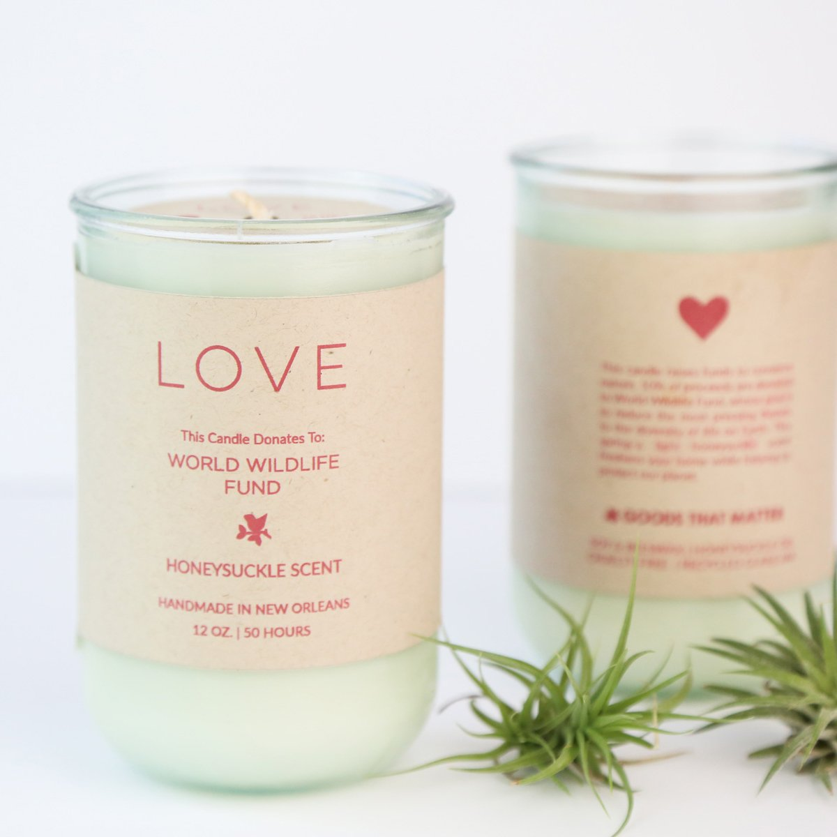 Goods that Matter candle, sustainable and ethical gift guide