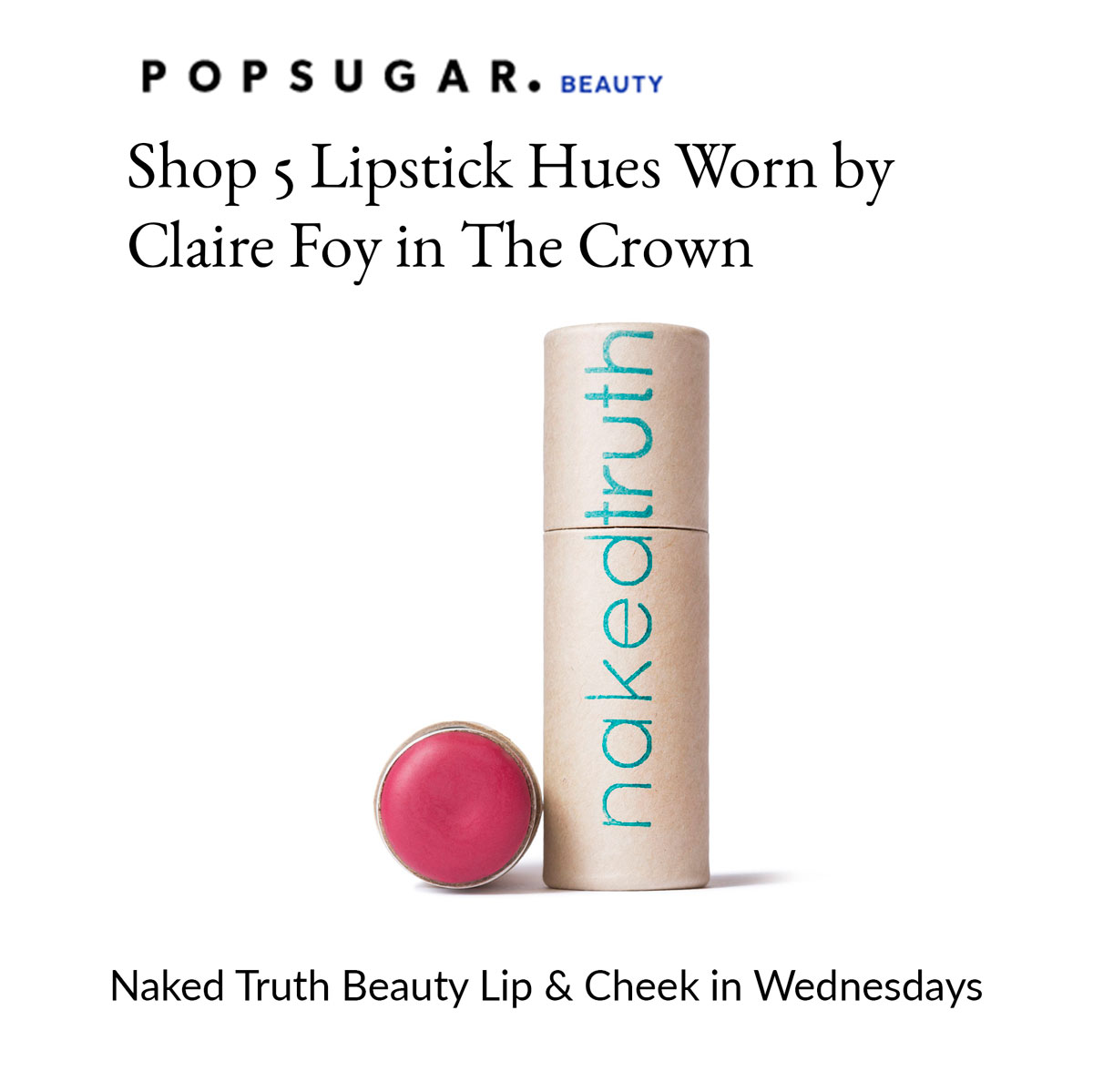 POPSUGAR Shop 5 Lipstick Hues Worn by Claire Foy in The Crown